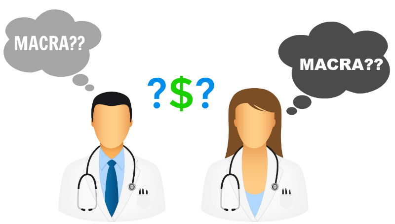 1/2 physicians unaware of macra